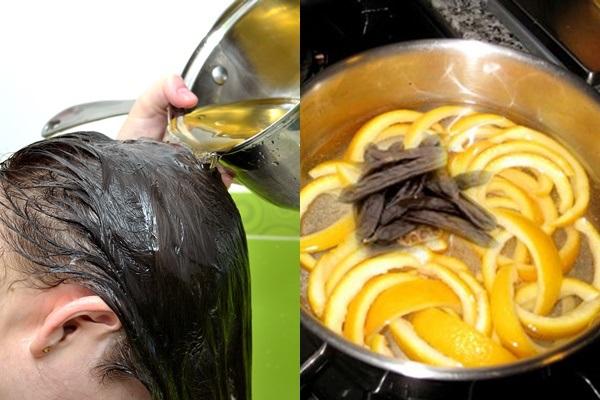 Vỏ bưởi có tác dụng chăm sóc tóc khỏe đẹp như ý