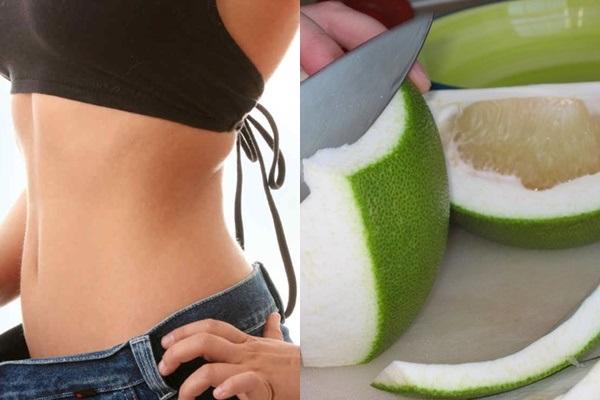 Vỏ bưởi không những tốt cho sức khỏe mà còn có tác dụng giảm cân