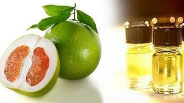 Vỏ bưởi tinh chế thành tinh dầu giúp dưỡng da đẹp như ý