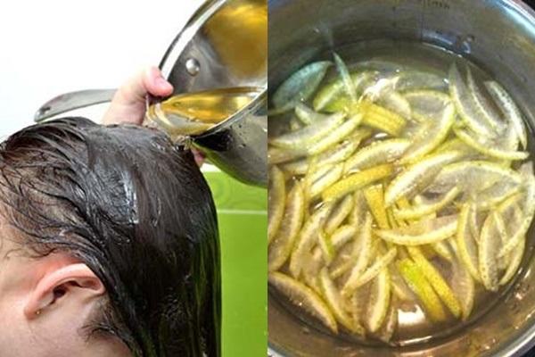 Gội đầu bằng nước vỏ bưởi giúp dưỡng tóc sức khỏe và mềm mượt
