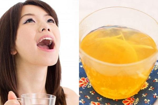 Hơi thở thơm mát, giảm hôi miệng với nước trà vỏ bưởi