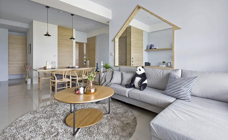 Ngôi nhà đơn giản mà đẹp của gia đình trẻ - Ảnh 2
