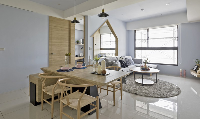 Ngôi nhà đơn giản mà đẹp của gia đình trẻ - Ảnh 3