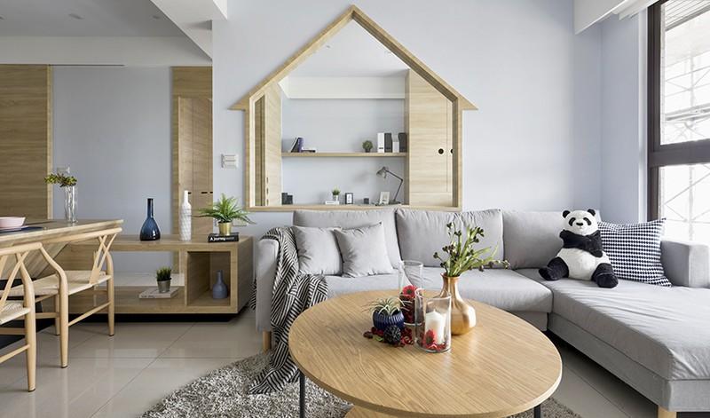 Ngôi nhà đơn giản mà đẹp của gia đình trẻ - Ảnh 1