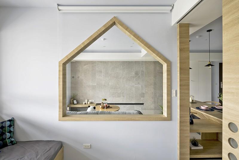 Ngôi nhà đơn giản mà đẹp của gia đình trẻ - Ảnh 6
