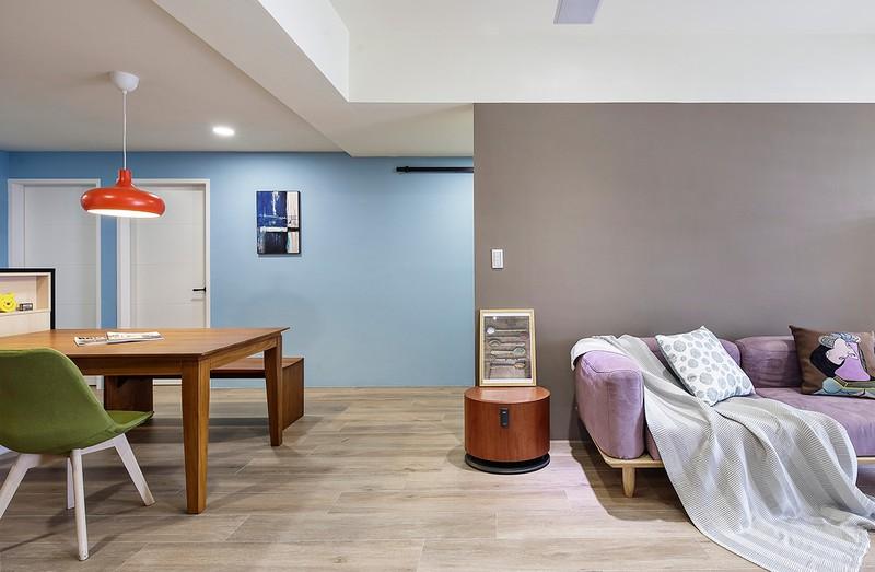 Tận hưởng căn hộ hiện đại, ngập tràn màu sắc - Ảnh 4