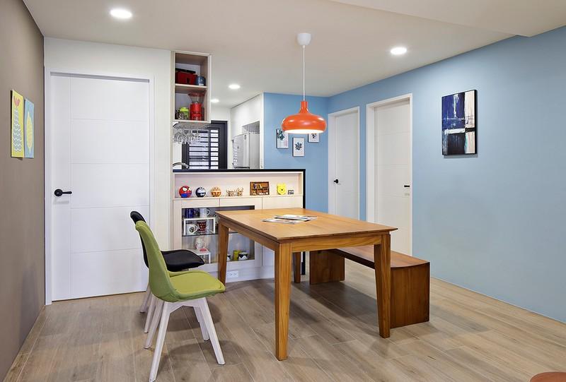 Tận hưởng căn hộ hiện đại, ngập tràn màu sắc - Ảnh 5