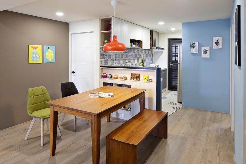 Tận hưởng căn hộ hiện đại, ngập tràn màu sắc - Ảnh 6