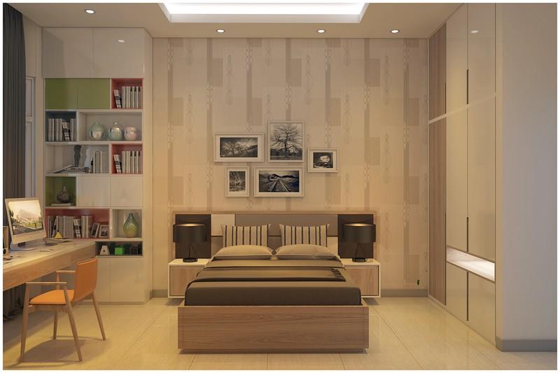 Nội thất biệt thự mini có 3 phòng ngủ xinh xắn - Ảnh 6