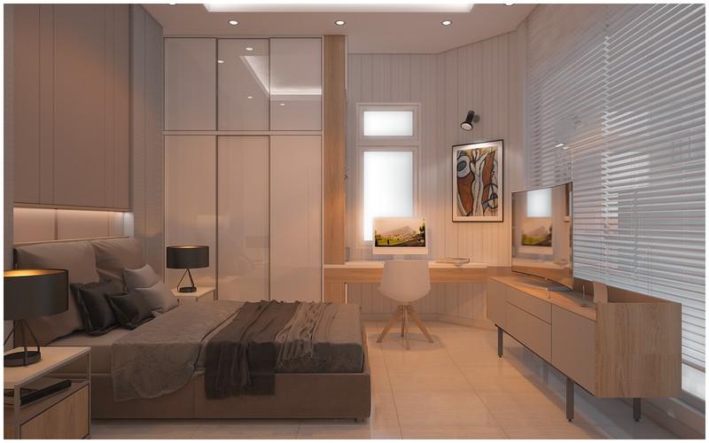 Nội thất biệt thự mini có 3 phòng ngủ xinh xắn - Ảnh 7