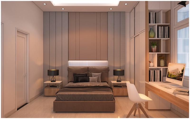 Nội thất biệt thự mini có 3 phòng ngủ xinh xắn - Ảnh 8