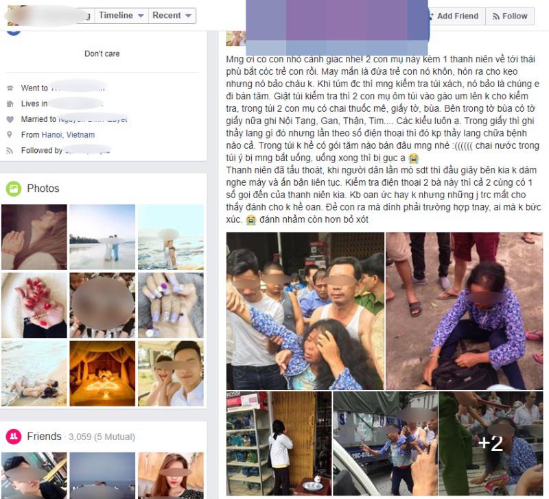 Vụ đánh đập dã man 2 phụ nữ vì nghi bắt cóc: Người tung tin giả là hot girl bán mỹ phẩm - Ảnh 16