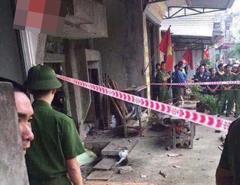 Nhân chứng kể lại vụ nổ kinh hoàng ở Thái Nguyên: 'Vết máu bắn tung lên cả cánh cửa' - Ảnh 1