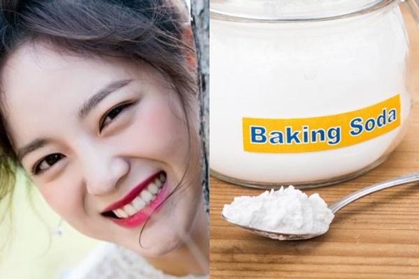 Làm trắng răng hiệu quả tại nhà với baking soda