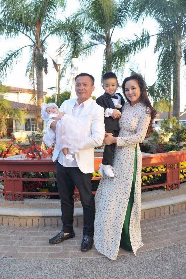 Vy Oanh lần đầu tiên để lộ gương mặt chồng đại gia hơn 20 tuổi