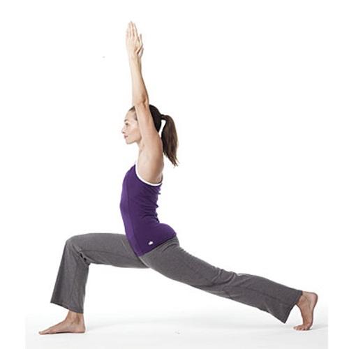 Động tác 5 trong bài tập yoga giảm cân nhanh nhất.